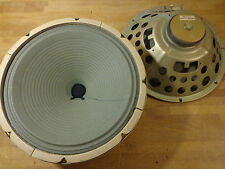 "2 Vintage 70's 12"" Oxford 12J4 Speakers 8ohm (Low Wattage Fender Guitar Amp Use)"