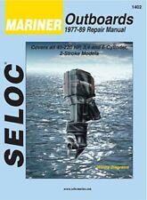 1977-1989 Mariner Outboard 45-220 Marine Repair Manual 200 175 150 140 135 0160