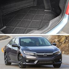 Waterproof Car Boot Cargo Trunk Mat Liner Tray New for 2016-Up Honda Civic Sedan