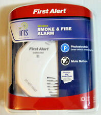 First Alert Battery-Powered 3-Volt Smoke Detector Alarm Backup Security Wireless