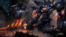 Poster 42x24 cm League Of Legends Aatrox Mecha LOL