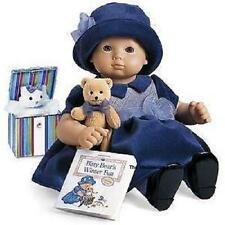 """American Girl Bitty Baby WINTER PARTY PURPLE SET for 15"""" Dolls - Mint in the Box"""