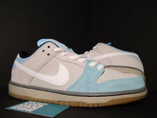 2014 Nike Dunk Low Pro SB GULF OF MEXICO GLACIER ICE BLUE WHITE ASH GREY GUM 10