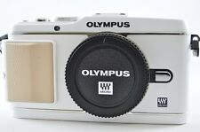[Exc⁺⁺] OLYMPUS PEN E-P3 12.3 MP White (Body) Mirrorless Digital SLR Camera