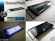 "Beamswork aquarium Power LED 200 light lamp 30-45 cm 11""-17"" tank bright planted"