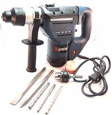 "1-1/2"" SDS Plus Rotary Hammer Drill 3 Functions"