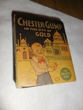 1935 Chester Gump in the City of Gold BLB Big Little Book #1146 Fine