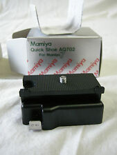 """""""NEW"""" Mamiya Quick Shoe AQ702 for Mamiya 6, M6MF, M7 & M7II Cameras """"NEW"""""""