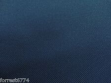 WATERPROOF HEAVY DARK BLUE CANVAS FABRIC  -1000D PU BACK PER MTR