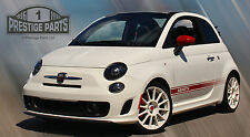 Fiat 500 Abarth side stripes correct dealer size Genuine 3M vinyl decals