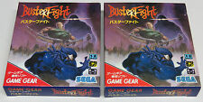 Buster Fight Game Gear Japan Masters Of Combat BRAND NEW Imp Quality Shipping