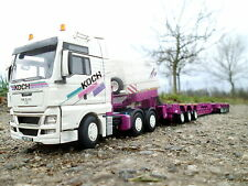"WSI MAN TGX XXL 6x4 scheuerle intercombi ""Koch"" 1:50"