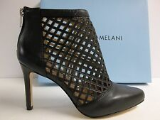 Antonio Melani Size 7.5 M Mena Black Leather Pumps Heels New Womens Shoes