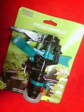 GARDEN HOSE REPAIR QUICK CONNECTOR SPRINKLER IMPULSE SHUT OFF NOZZLE SWEEPER NEW