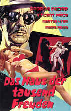 House of a 1000 Dolls DVD Hardbox Cover B Retro film Vincent Price Euro Crime