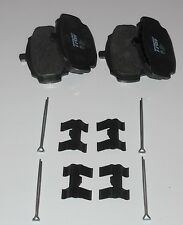 Set of 4 Disc Brake Pads & Split Pins Retainers for Singer Vogue III 1964-65