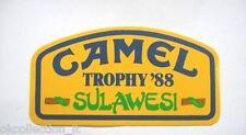 Vecchio Adesivo da Collezione /Old Sticker CAMEL TROPHY '88 SULAWESI (cm 16x8)