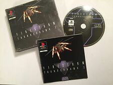 SONY PS1 PLAYSTATION 1 PSone GAME FIRESTORM THUNDERHAWK 2 +BIG FAT BOX COMPLETE