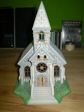Partylite Kirche Kathedrale Old World Village P7321 Kapelle Dom TOP