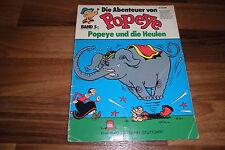 Abenteuer von POPEYE  # 5 -- Popeye und die Heulen / Ehapa 1. Auflage 1977