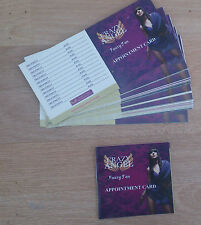 Crazy Angel tan appointment card set of 50