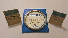 Genuine Vtg Seiko Bezel 83338949 + Parts For 6139-7002 /7010 / 7012 / 7060 /7069