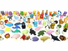 Iwako Erasers Animal Overstock (Pack of 20) with a unicorn included!