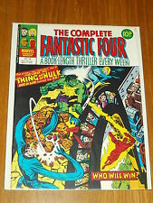 FANTASTIC FOUR THE COMPLETE #34 MARVEL BRITISH WEEKLY 17 MAY 1978