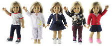 "5 Set Doll Clothes For 18""American Girl Doll Handmade Casual Wear"