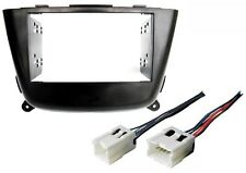 NEW! Nissan Sentra Radio Stereo Installation Double 2 Din Dash Kit Wire Harness