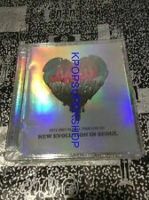 2NE1 2012 Global Tour Live CD  New Evolution in Seoul YG New Sealed