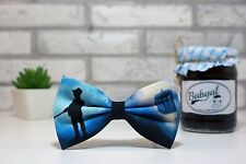 Bow tie with Doctor Who handmade cool unusually print free shipping