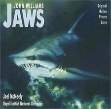 Jaws Film Soundtrack CD NEW Joel McNeely/Royal Scottish National Orchestra Live