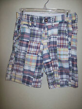 American Eagle Outfitters Mens Teen  Boys Shorts Size 26 Classic Length Prep Fit