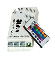 3322 RGB IR Music Controller 60 Watt 3 Ports With Remote for Color Changing LEDs