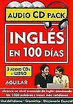 Ingles en 100 dias CD Pack/ English in 100 Days CD Pack & Book Spanish Edition