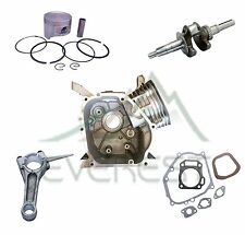 NEW REBUILD KIT FOR HONDA GX200 CRANKSHAFT PISTON KIT CONNECTING ROD GASKET SET