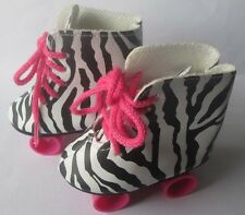 2017 New Leopard pulley Fashion Gift Shoes Fit 18inch American Girl Doll Party a