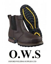 Amblers Safety FS210C Steel Boot Brown SIZE UK 8