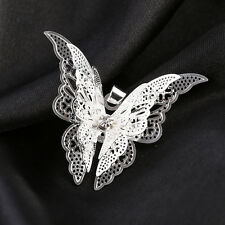 New Cute Lovely Life-like Silver Plated Butterfly Necklace Pendant