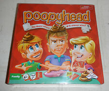 NEW Sealed Poopyhead Card Board Game The Game Where Number 2 Always Wins