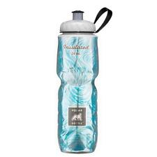 POLAR INSULATED WATER BOTTLE SEA BREEZE 24 OZ OUNCE  BPA FREE MADE USA BICYCLE