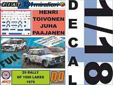 DECAL 1/18 FIAT 131 ABARTH H.TOIVONEN 1000 LAKES 1979 (FULL) (01)