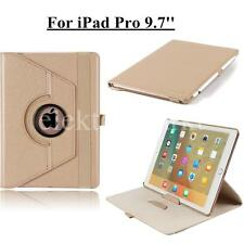 NEW 360°Swivel Rotating Smart Leather folio Case stand cover For iPad Pro 9.7""