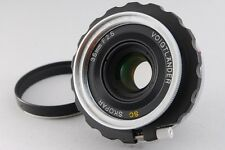 【AB Exc+】 Voigtlander SC SKOPAR 35mm f/2.5 Wide Angle MF Lens For Nikon S #2472