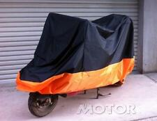 XXXL Motorcycle Orange Rain Cover for Harley Davidson Ultra Tour Glide Classic