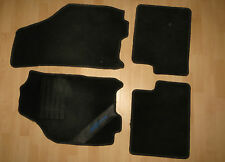LANCIA YPSILON 843 Set Tappetini NERO CAR Mat Black Tappetino BJ 2003-2006