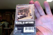 Mental As Anything- Creatures of Leisure- new/sealed cassette tape