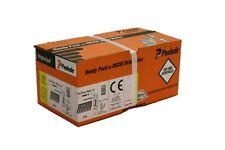 Paslode Hafte Pack für IM200/32 Hafte 2,8 x 25 MM V 2 A Ring NEU 2000 inkl. Gas