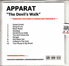 APPARAT The Devil's Walk UK 10-tk numbered/watermarked promo test CD sealed